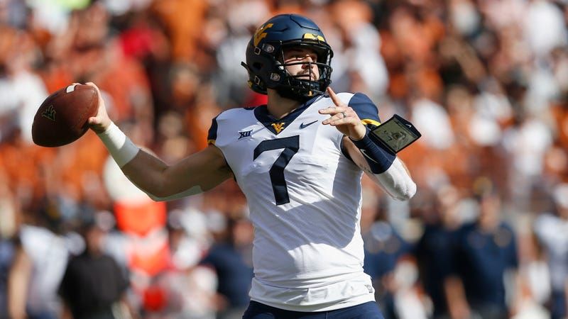 Illustration for article titled When Will Grier's On Fire, Your Defense Should Be Terrified