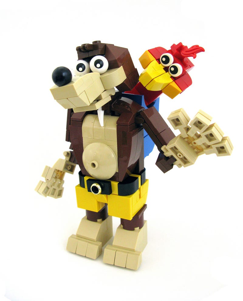 Illustration for article titled Lego Banjo And Kazooie