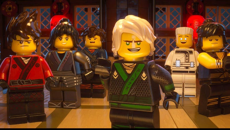 Illustration for article titled Ninjas Assemble In New Images From The Lego Ninjago Movie