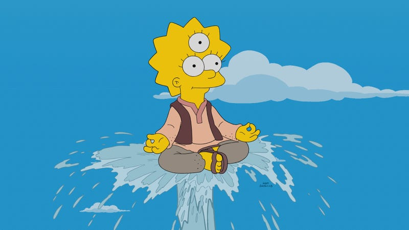 Illustration for article titled A trio of sweet religious tales sees The Simpsons finding goodness, if not greatness