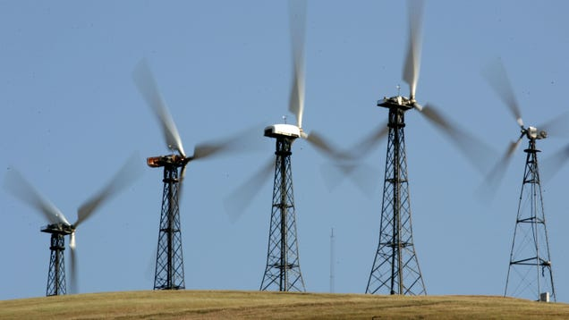 California s Hills Are Haunted by the Ghosts of Wind Energy s Past