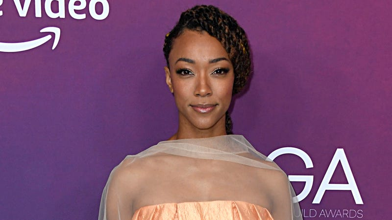 Sonequa Martin-Green at the 21st Costume Designers Guild Awards.