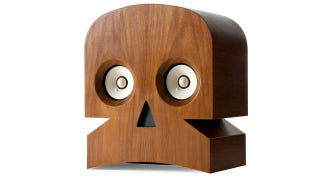 Illustration for article titled Minuskull Speakers Are Terrifyingly Beautiful