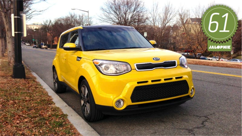 2014 kia soul the jalopnik review if there was ever a modern car that was defined by its marketing campaign its the 2014 kia soul you cant go anywhere in the boxy little hatchback sciox Choice Image