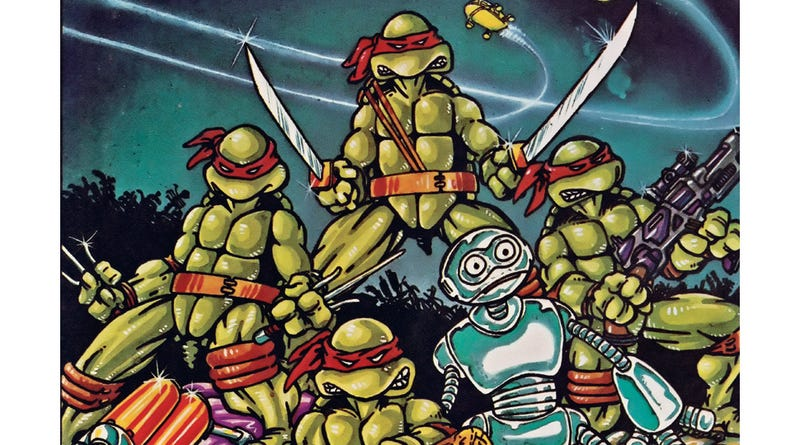 Illustration for article titled The Strange Real-Life Origins Of The Teenage Mutant Ninja Turtles