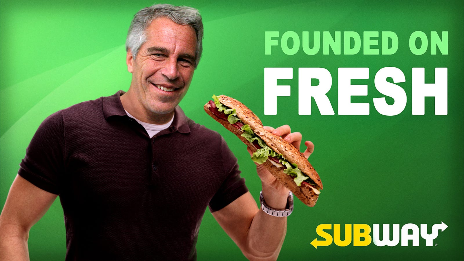 Frustrated Subway Marketers Scrap $150 Million Jeffrey Epstein Ad Campaign