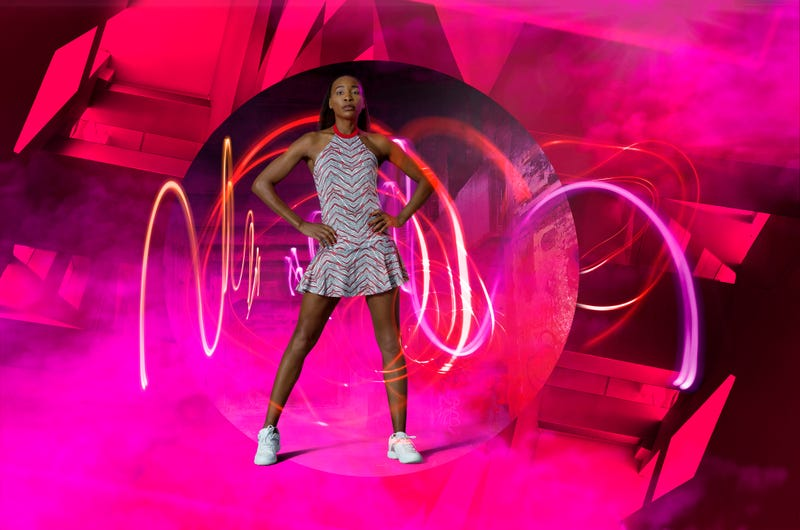 Venus Williams in the Sprint Incline dress from EleVen ($98)