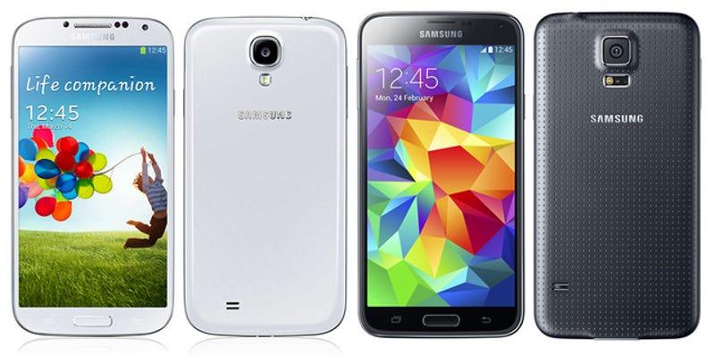 Samsung Galaxy S5 vs Galaxy S4, ¿qué cambia?