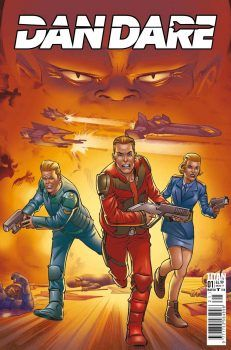 Illustration for article titled Dan Dare flies again