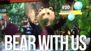 Watch The Xbox Kinect Turn a <em>Kotaku</em> Editor Into A Groovy Bear