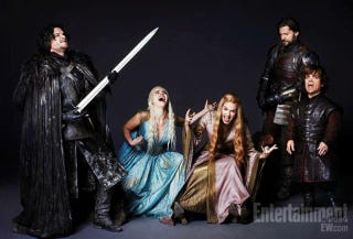Illustration for article titled Winter is coming, and so are Game of Thrones action figures
