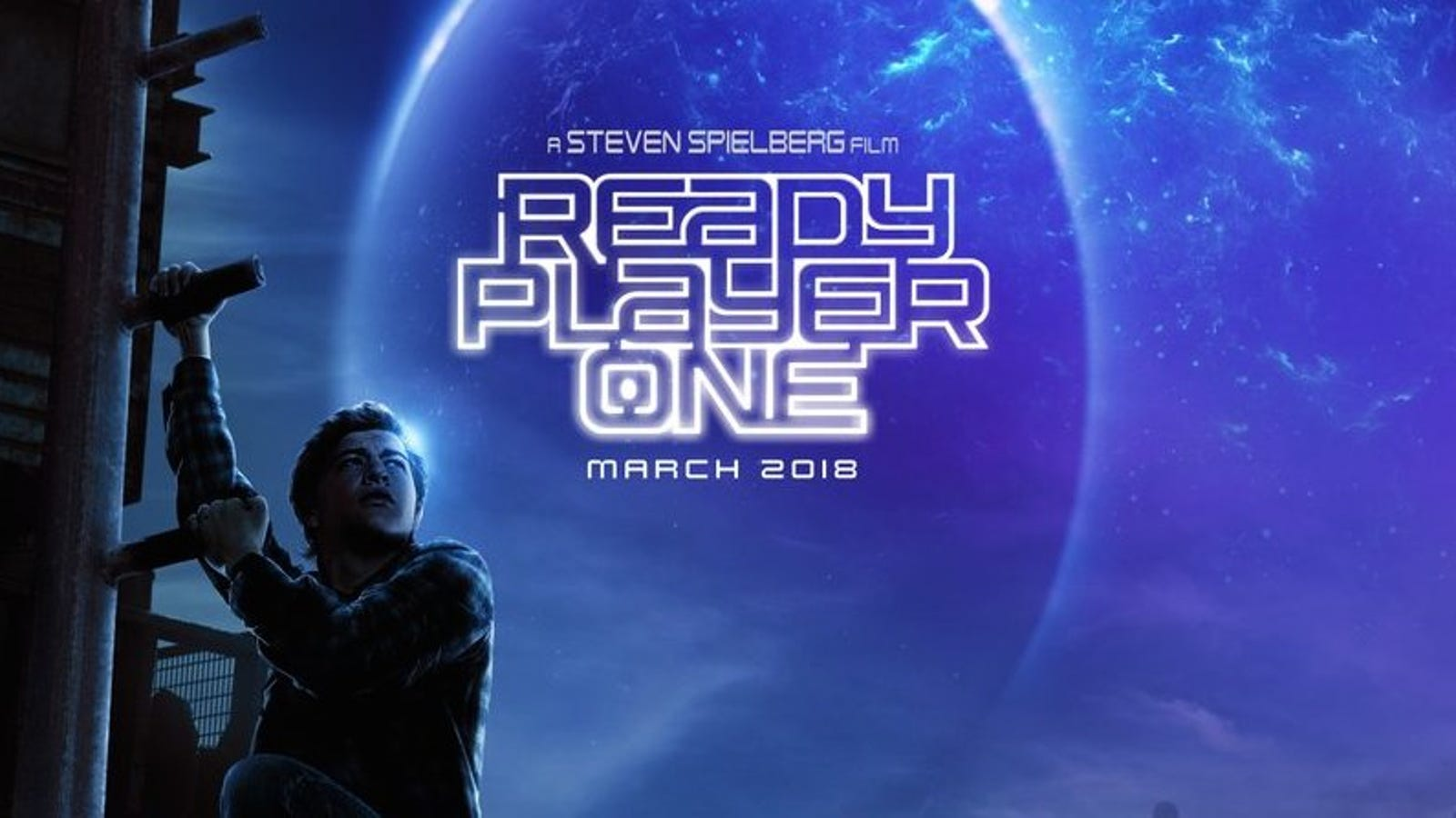 The Ready Player One poster is terrible, but possibly accurate