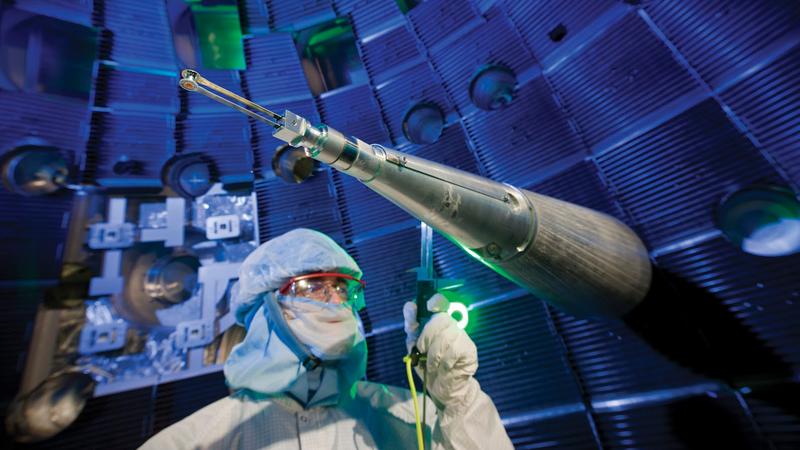 La fusión nuclear rompe su punto de equilibrio por primera vez