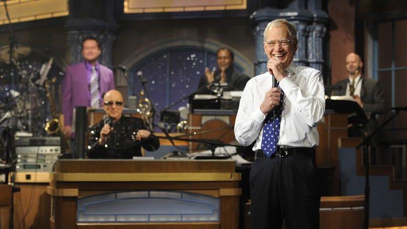 Paul Shaffer, David Letterman