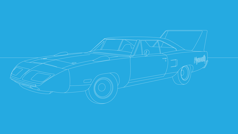 Illustration for article titled Plymouth Superbird