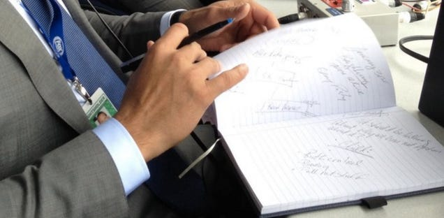 What Are These Entries In Alex Rodriguez's Game Notebook?