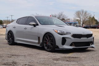 Hometown Auto Sales >> This $68,000 Kia Stinger is a Surface-to-Air Dealer Custom
