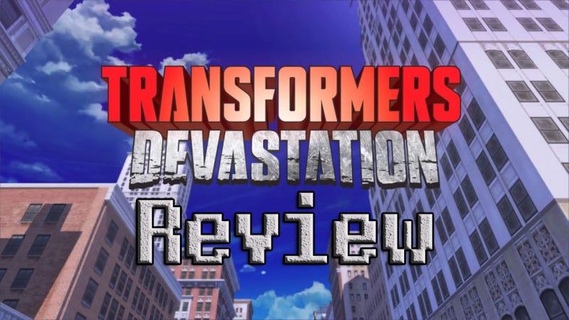 Illustration for article titled Transformers: Devastation Review