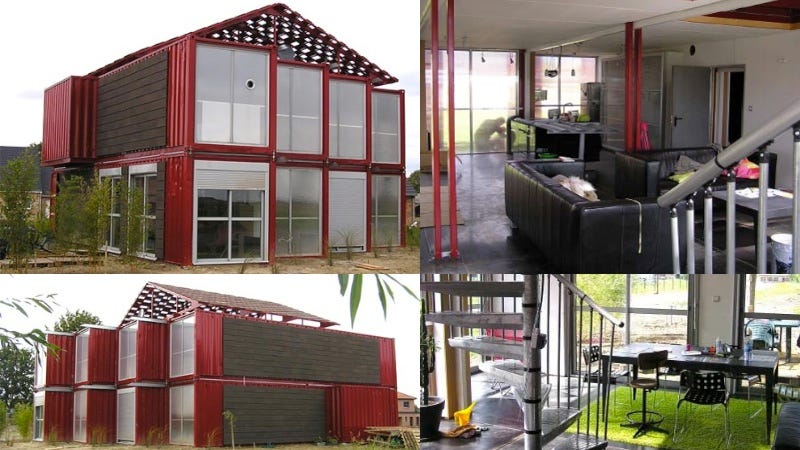 the greatest homes made from shipping containers around the world - Eco Friendly Shipping Container Homes