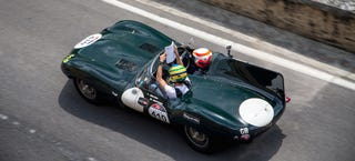Illustration for article titled This Was Jaguar At The Mille Miglia
