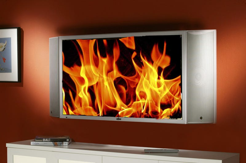 Illustration for article titled Your Wall-Mounted HDTV Probably Violates Electrical Codes