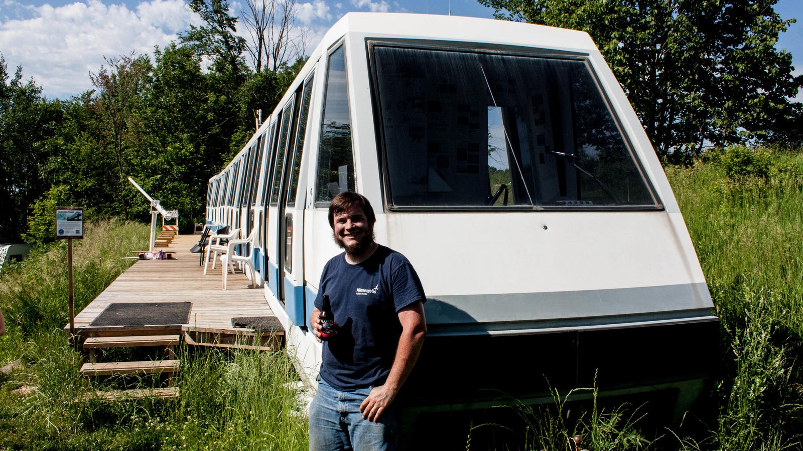 Meet the Guy Who Bought a Monorail For $1,000