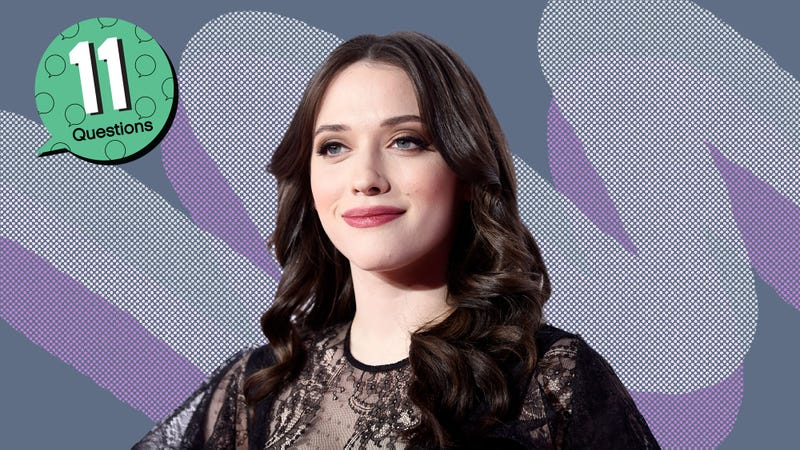 Illustration for article titled Kat Dennings grew up in a haunted house and bought her first albums based on hot blonds