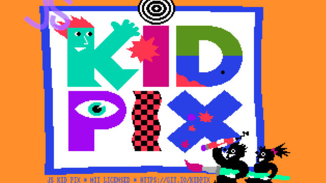 Pioneering Paint App KidPix Is Back and Ready To Run in Your Browser