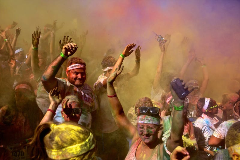 Illustration for article titled Just signed up for the Color Run 5K