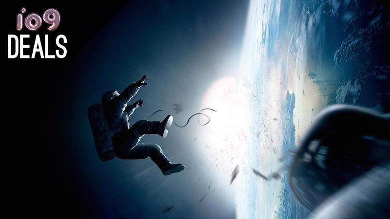 Illustration for article titled Gravity, Land Before Time Tridecology, Veronica Mars [Deals]