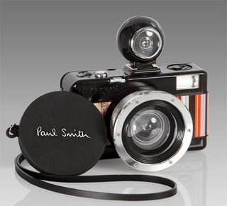 Illustration for article titled Paul Smith Makes Lomo Camera Fashionable with Fisheye No.2