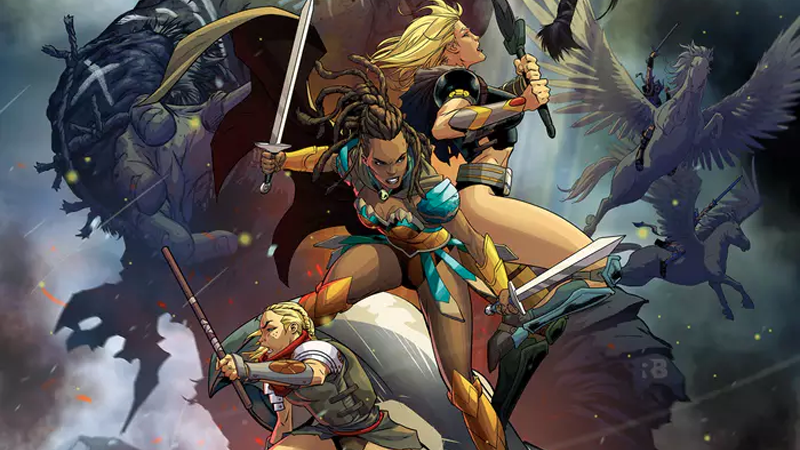 Illustration for article titled New DC Comic Is Basically Jason and the ArgonautsBut With Amazons
