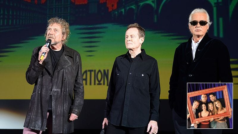 Illustration for article titled They're Back! Led Zeppelin Has Announced That There Will Be A 'Friends' Reunion!