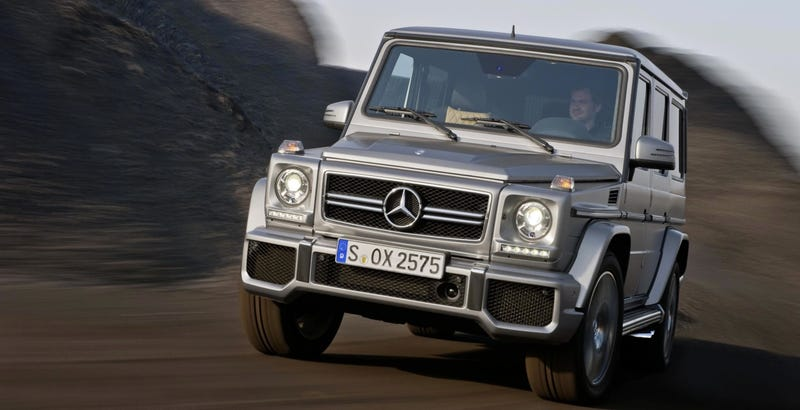 Illustration for article titled The Mercedes G-Class Will Live On, Just With More Modern Parts
