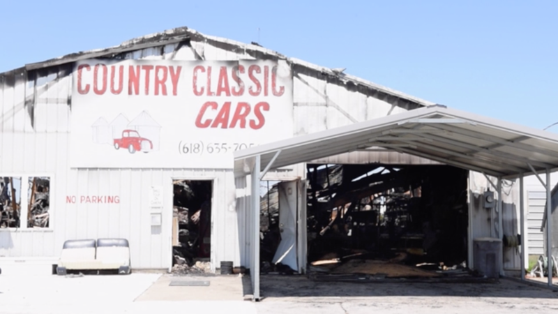 Classic Car Dealer in Illinois Gets Hit by Tornado Months