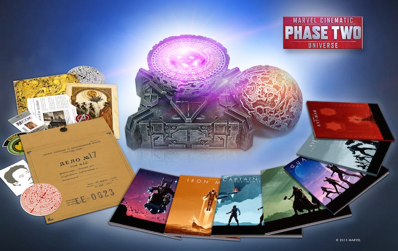 Illustration for article titled Get the Marvel Phase 2 Blu-Ray Box Set Before Star-Lord Steals It From You