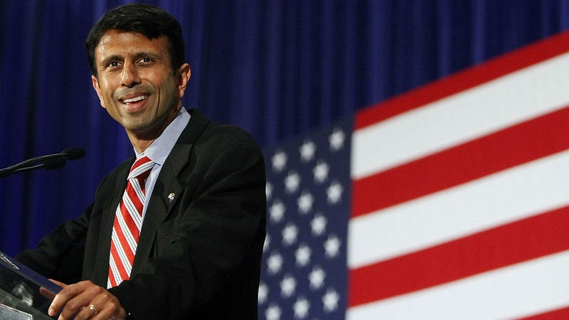 Illustration for article titled Bobby Jindal's New Portrait Is White Enough to Win an Oscar