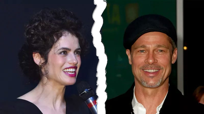 Illustration for article titled Surprise! Brad Pitt Is Single, and That TED-Talking MIT Professor Is Dating a Billionaire