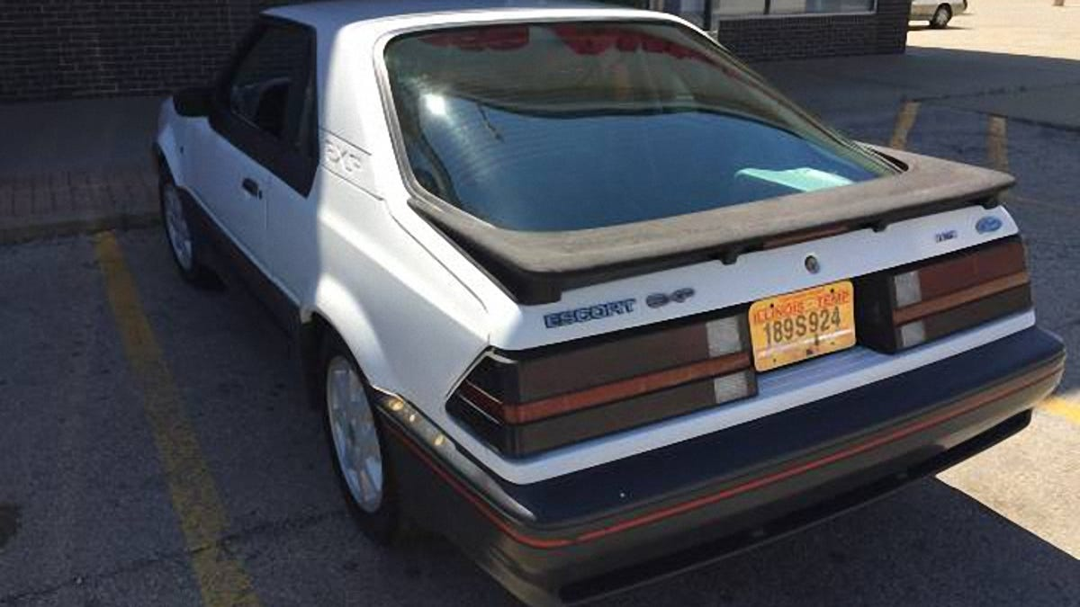 This 1986 ford escort exp is 1800 and could be the last decent one out there