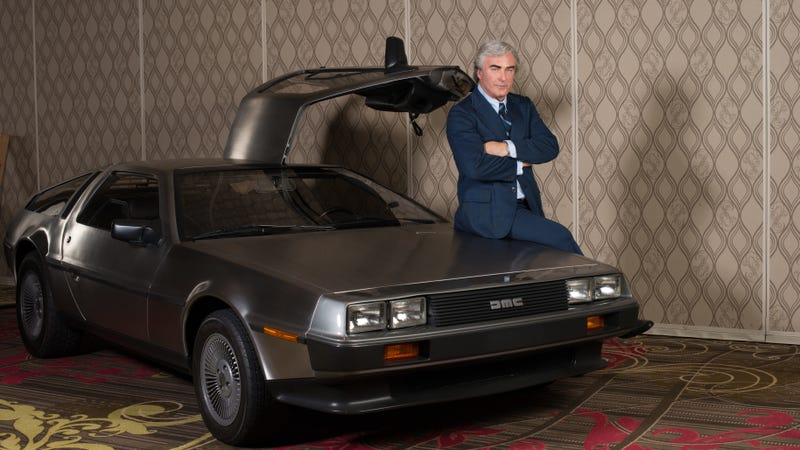 Illustration for article titled Framing John DeLorean Is the Story of a Man Whose Life Was Too Colorful for a Black and White World