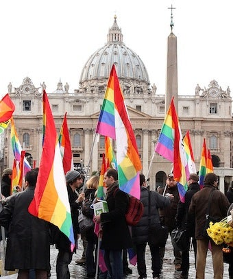 "Illustration for article titled Roman Catholic Church Holds U.K.'s Only ""Gay Mass"""