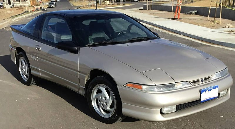 Illustration for article titled For $11,500 Would You Sink Your Claws Into This Super Clean 1990 Eagle Talon TSi?