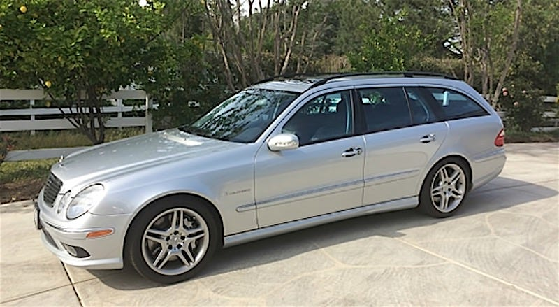 this 2006 mercedes benz e55 amg wagon asks 28 900 is. Black Bedroom Furniture Sets. Home Design Ideas