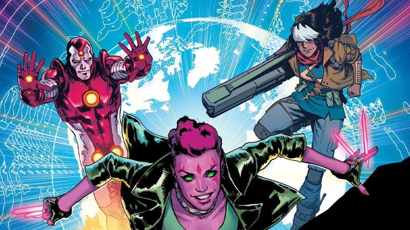 Image: Marvel Comics. Exiles art by David Marquez and Matt Wilson.