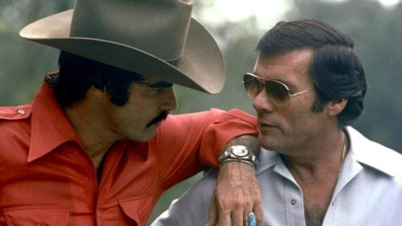 Burt Reynolds, Hal Needham (Photo: CMT)