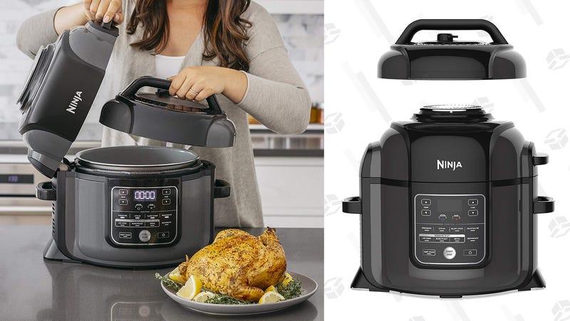 Ninja Foodi 8-Quart Pressure Cooker, Steamer, Air Fryer All-in- All-in-One | $199 | Amazon