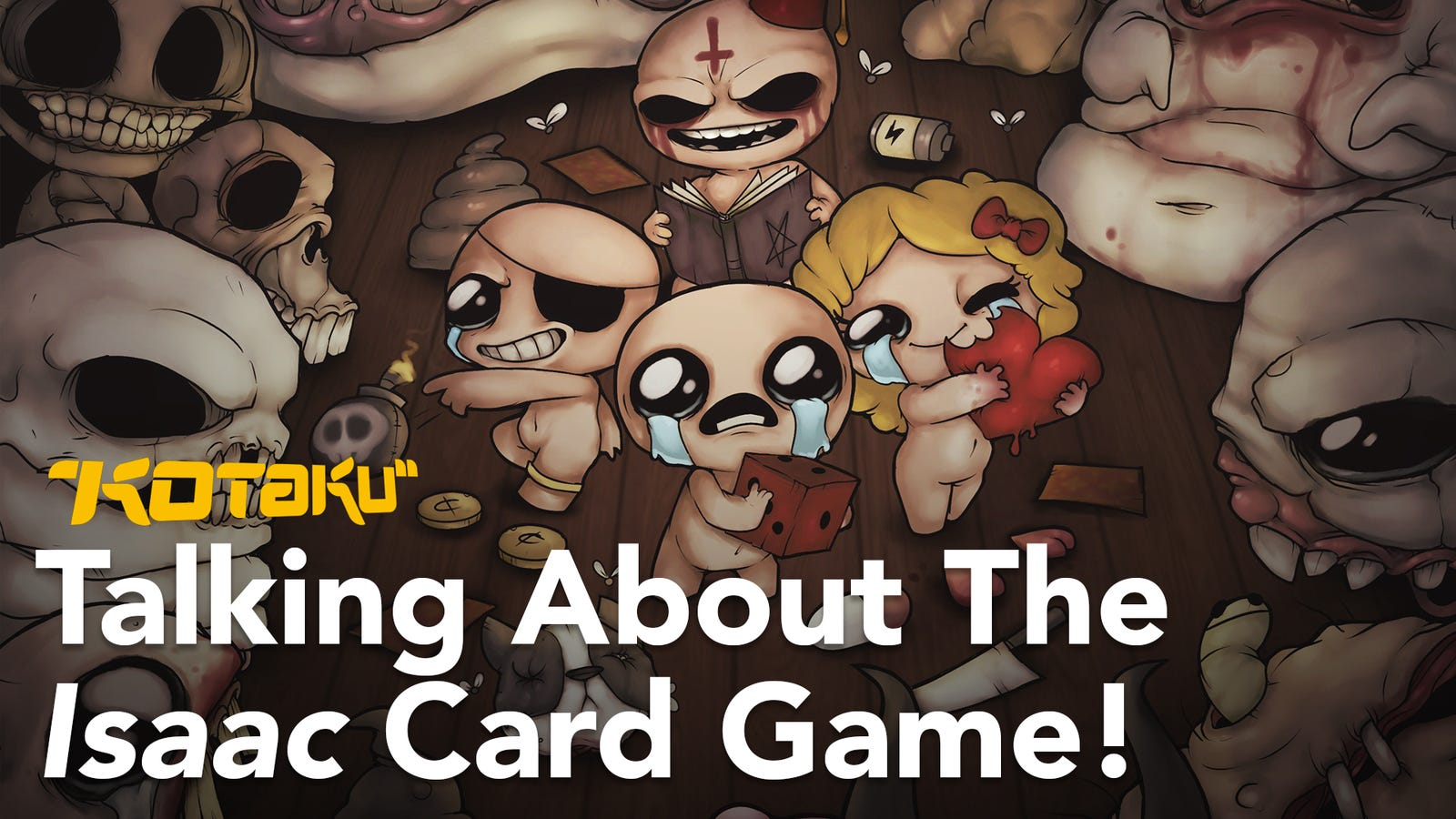 Binding Of Isaac's Designer Wants You To Pirate His New Card Game