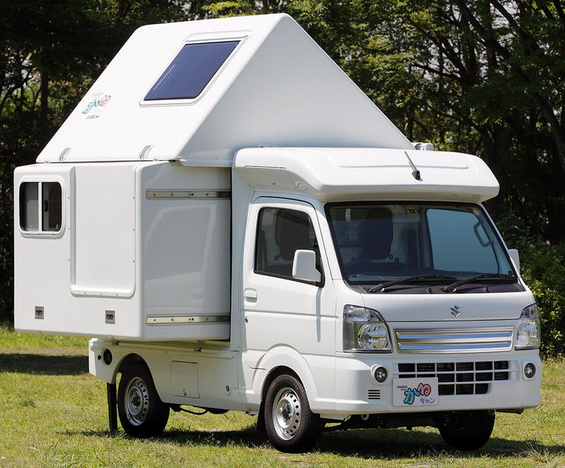 japanese rvs are as bonkers as they are cute. Black Bedroom Furniture Sets. Home Design Ideas