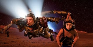 Illustration for article titled Mars Needs Moms trailer shows how the aliens will abduct your mother