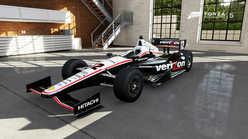 Illustration for article titled Forza 5 Indy Cars